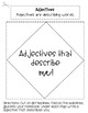 Identify Adjectives Task Cards and Activity Bundle