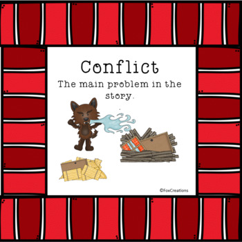 Identify And Comprehend Story Elements ~ Class Decor Posters