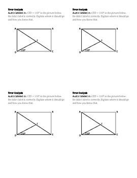 Identify Angles Activity