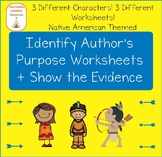 Author's Purpose: Identify + Show the Evidence Reading Passages