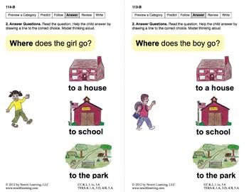 Identify Categories: Lesson 10, Book 3 (Newitt Prereading Series)