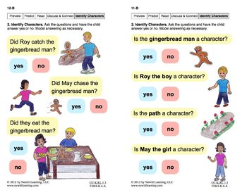 Identify Characters 1: Lesson 1, Book 17 (Newitt Literature Series)