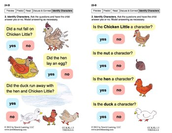 Identify Characters 1: Lesson 2, Book 17 (Newitt Literature Series)