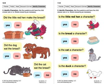 Identify Characters 2: Lesson 1, Book 21 (Newitt Literature Series)