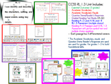 SET #1 -Identify Characters, Setting, Events (RL 1.3 Unit-