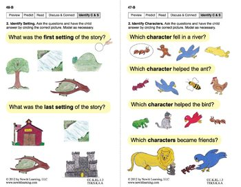 Identify Characters & Settings 1: Lesson 4, Book 17 (Newitt Literature Series)
