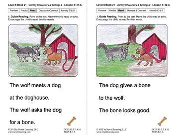 Identify Characters & Settings 2: Lesson 4, Book 21 (Newitt Literature Series)