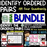 Identify Coordinates on a Coordinate Plane in All Four Quadrants MEGA BUNDLE