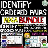Identify Coordinates on a Coordinate Plane in Quadrant 1:MEGA BUNDLE
