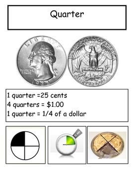 Identify, Count and Add Coins to $1 interactive book