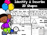 Identify & Describe 2D Shapes (Go Math Ch. 9)