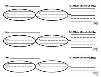Identify & Describe Setting Graphic Organizer