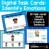 Identify Emotions {BOOM Cards}- Distance Learning