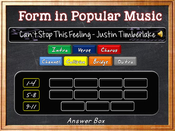 Identify Form in Pop Music - Part FOUR!