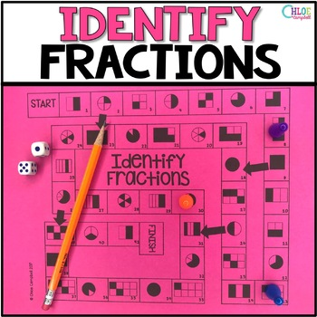 Identify Fractions Board Game 3.NF.A.1