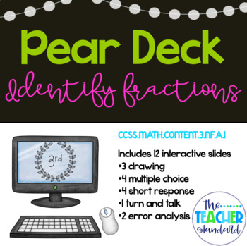 Identify Fractions Pear Deck