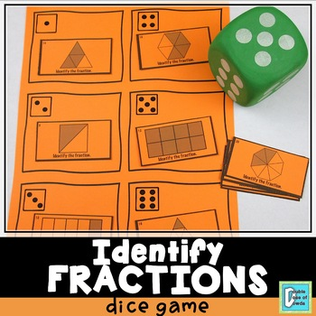 Fractions Roll and Play Dice Game