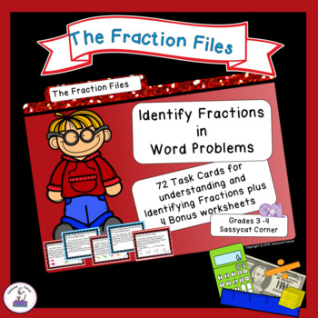Identify Fractions through Word Problems