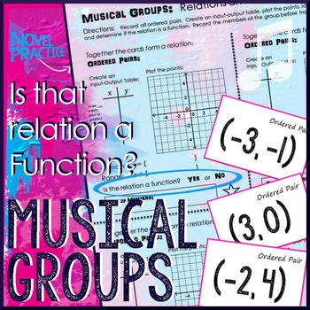 Identify Functions Musical Groups