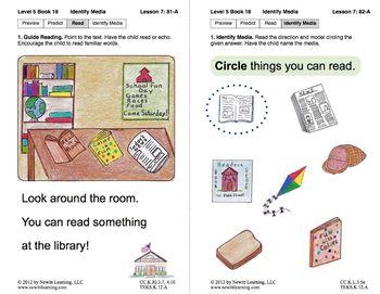 Identify Media: Lesson 7, Book 18 (Newitt Nonfiction Series)
