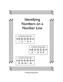 Identify Missing Numbers On a Number Line
