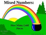 Identify Mixed Numbers of Gold