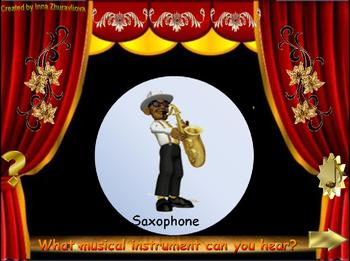 Identify Musical Instruments by their Sound PowerPoint Game