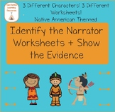 Narrator: Identify + Show the Evidence Reading Passages