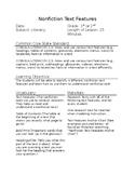Identify Nonfiction Text Features Lesson Plan