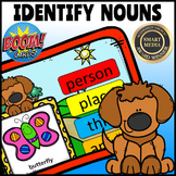 Identify Nouns-People, Places, Things, Animals:: BOOM CARDS