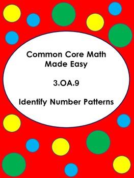 Identify Number Patterns