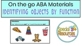 Identify Object by Function - ABA Distance Learning