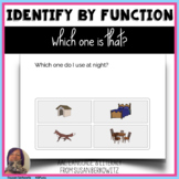 Identify Objects by Function or Trait BOOM Cards digital activity speech