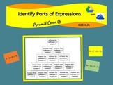 Identify Parts Of Expressions Interactive Digital Activity