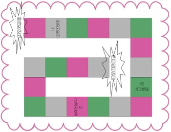 Identify Place Value Relay Race Review Game