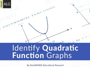 Identify Quadratic Function Graphs
