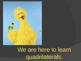 Identify Quadrilaterals