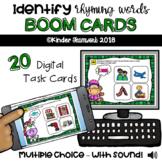 Identify Rhyming Words: Interactive Digital BOOM Deck