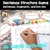 Sentence Structure Game: Identify Sentences, Fragments, an