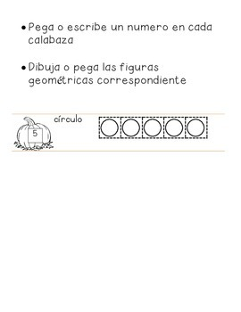 Identify Shapes (In Spanish- Halloween Themed)