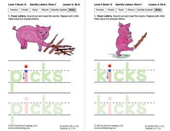 Identify Short I: Lesson 5, Book 15 (Newitt Decoding Series)