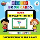 Identify Singular and Plural Nouns | Kindergarten K-1 ELA
