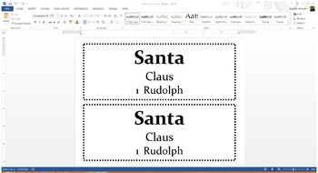 Sun visor School-wide Student Labels - EASY & QUICK