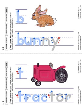 Identify Syllables 2: Lesson 7, Book 7 (Newitt Prereading Series)