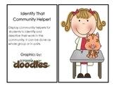 Identify That Community Helper!
