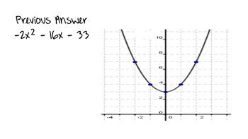 Identify That Parabola!