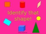Identify That Shape