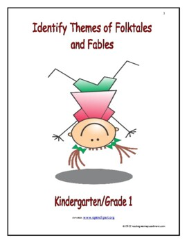 Identify Themes of Folktales and Fables: Introduce/Practice/Assess