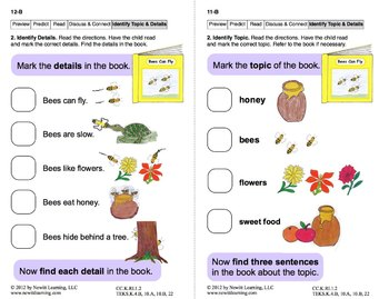 Identify Topic and Details 1: Lesson 1, Book 18 (Newitt Nonfiction Series)
