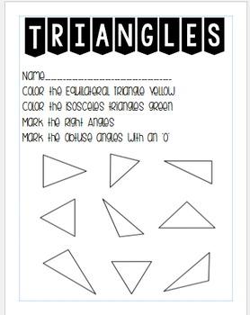 Identify Triangles